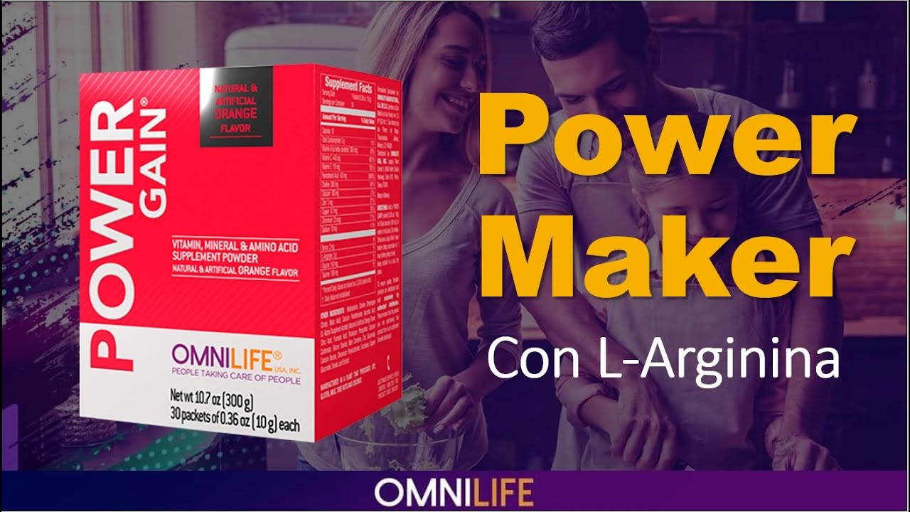 ¿Por Qué Consumir El Power Gain O Power Maker De Omnilife Para Ganar Masa Múscular?